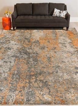 Amer Rugs Mystique Orange Rectangular Area Rug ARMYS14