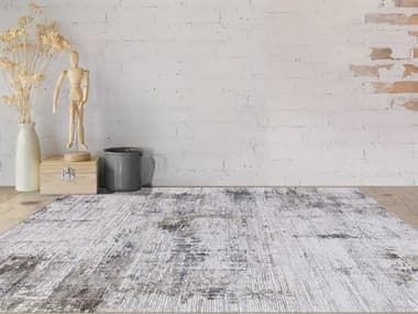 Amer Rugs Venice Ivory-Gray / Gold-Bronze Taupe Rectangular Runner Area Rug ARVEN2REC