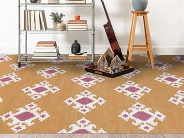 Amer Rugs Zara Orange / Pink Ivory Rectangular Area Rug ARZAR20