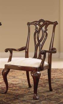 American Drew Cherry Grove Classic Antique Pierced Back Arm Chair AD792655