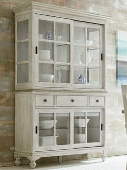 American Drew Litchfield Driftwood / Sun Washed China Cabinet AD750850R