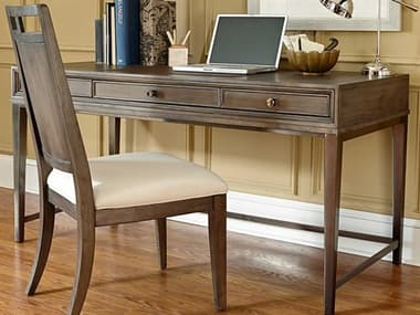 American Drew Park Studio Weathered Taupe with Gray Wash 60''L x 27''W Writing Desk AD488940