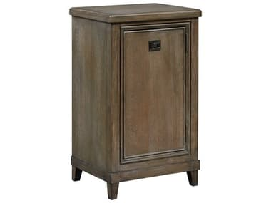 American Drew Park Studio Weathered Taupe with Gray Wash Left Side Facing Pier Entertainment Base AD488580