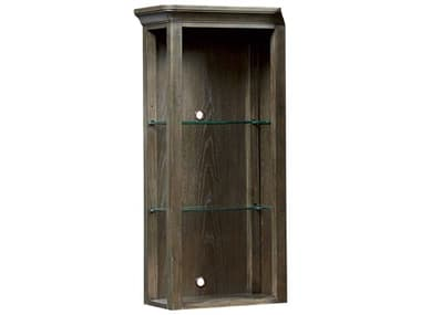American Drew Park Studio Weathered Taupe with Gray Wash Left Side Facing Pier Entertainment Deck AD488581