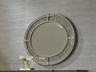 American Drew Savona Rococo 39'' x 45'' Oval Wall Mirror AD654020