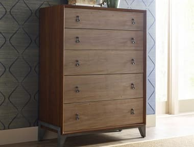 American Drew Modern Synergy Motif Maple Five-Drawer Chest AD700215