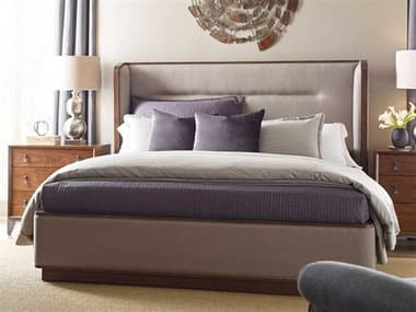 American Drew Modern Synergy Astro Upholstered King Panel Bed AD700306R