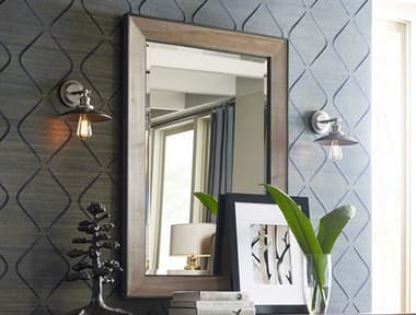American Drew Modern Synergy Perspective Landscape 51'' x 36'' Rectangular Wall Mirror AD700020