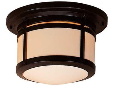 Arroyo Craftsman Berkeley 2-light Glass Outdoor Ceiling Light AYBCM12