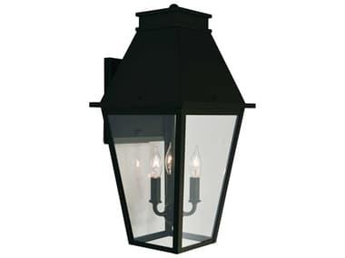 Arroyo Craftsman Croydon 3-light Glass Outdoor Wall Light AYCRB10