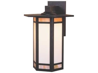 Arroyo Craftsman Etoile 1-light Glass Outdoor Wall Light AYETB9