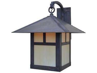 Arroyo Craftsman Evergreen 1-light Glass Outdoor Wall Light AYEB16