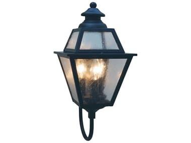Arroyo Craftsman Inverness 3-light Glass Outdoor Wall Light AYINB8GR