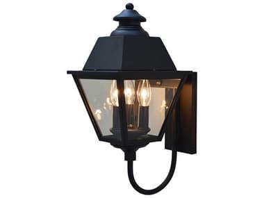 Arroyo Craftsman Inverness 3-light Glass Outdoor Wall Light AYINB8MR
