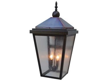 Arroyo Craftsman Lancaster 2-light Glass Outdoor Wall Light AYLAB12