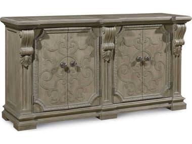 A.R.T. Furniture Arch Salvage Wren Parch 76''L x 21''W Rectangular Buffet AT2332512802