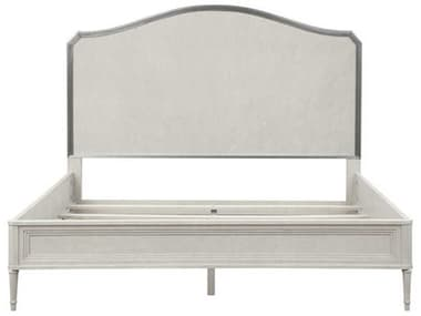A.R.T. Furniture La Scala Ivory & Nickel King Panel Bed AT2571563146