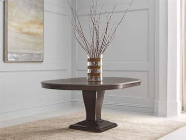 A.R.T. Furniture Landmark Russet 54'' Wide Round Dining Table with Extension AT2562252316