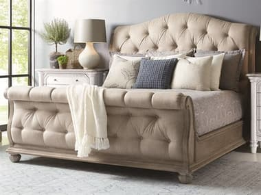 A.R.T. Furniture Summer Creek Scrubbed Oak Queen Sleigh Bed AT2511251303