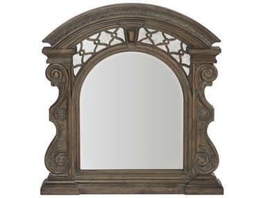 A.R.T. Furniture Vintage Salvage Bentley Carved Walnut 45''W x 48''H Dresser Mirror AT2311242812