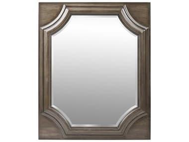 A.R.T. Furniture Vintage Salvage Searles Walnut 40''W x 49''H Rectangular Dresser / Wall Mirror AT2311202812