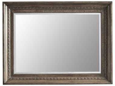 A.R.T. Furniture Vintage Salvage Nichols Walnut 45''W x 34''H Rectangular Dresser / Wall Mirror AT2311222812