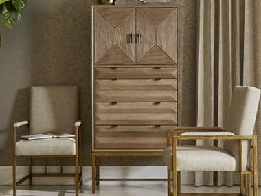 A.R.T. Furniture Woodwright Champagne Four-Drawer Chest of Drawers AT2531532325