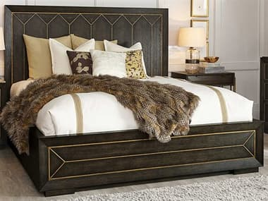 A.R.T. Furniture Woodwright Brown King Panel Bed AT2531362315