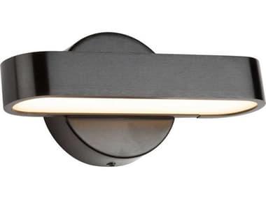 Artcraft Lighting Bosa Satin Black One-Light 8'' Wide LED Vanity Light ACAC7261BK