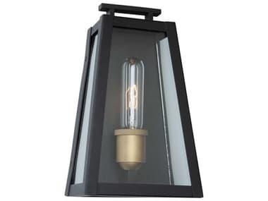 Artcraft Lighting Charlestown Black / Vintage Gold One-Light 6'' Wide LED Outdoor Wall Light ACAC8107BK