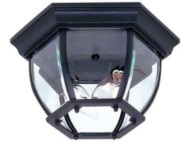 Artcraft Lighting Classico Black Two-Light Outdoor Ceiling Light ACAC8096BK