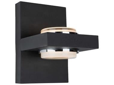 Artcraft Lighting Cruz Matte Black Two-Light LED Outdoor Wall Light ACAC7232BK