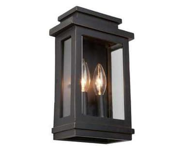 Artcraft Lighting Fremont Oil Rubbed Bronze Two-Light Outdoor Wall Light ACAC8291ORB