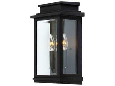 Artcraft Lighting Fremont Black Two-Light Outdoor Wall Light ACAC8391BK