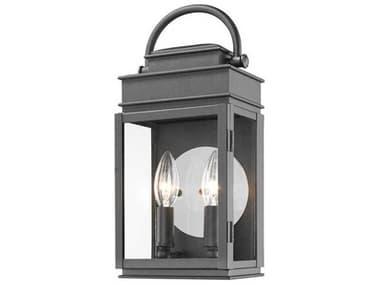 Artcraft Lighting Fulton Black Two-Light 6'' Wide Outdoor Wall Light ACAC8221BK