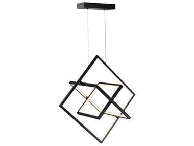 Artcraft Lighting Graymar Black 3-light 19'' Wide LED Island Light ACAC7627BK