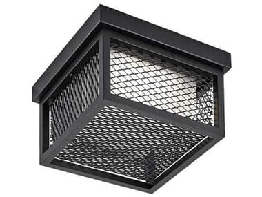 Artcraft Lighting Innovation Black 9'' Wide LED Outdoor Ceiling Light ACAC9176BK