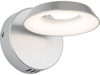 Artcraft Lighting Leith Silver One-Light LED Wall Sconce ACAC7172SN