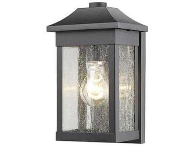 Artcraft Lighting Morgan Black 6'' Wide Outdoor Wall Light ACSC13100BK