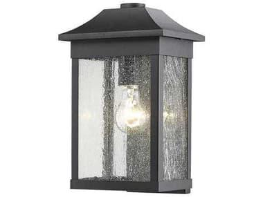 Artcraft Lighting Morgan Black 8'' Wide Outdoor WallLight ACSC13101BK