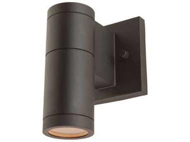 Artcraft Lighting Nuevo Black Outdoor Wall Light ACAC8001BK