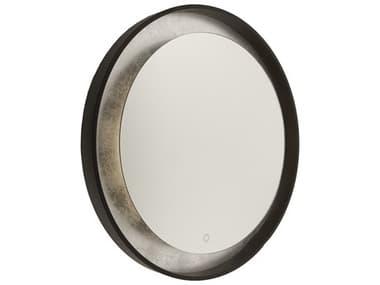 Artcraft Lighting Reflections Oil Rubbed Bronze / Silver Leaf Wall Mirror ACAM305