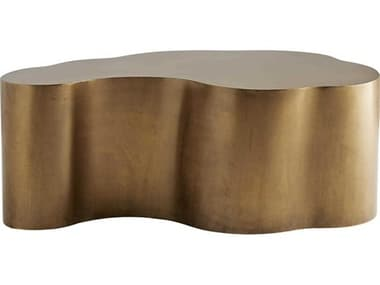 Arteriors Home Meadow Antique Brass 36'' Wide Coffee Table ARH2100