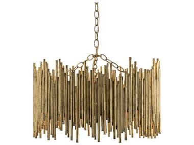 Arteriors Home Prescott Gold Leaf 3-Light 22'' Wide Pendant ARH86801