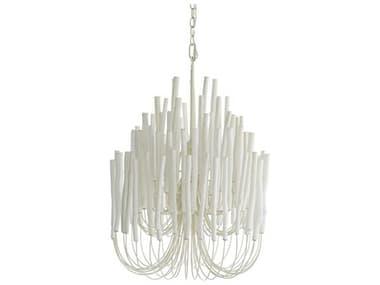 Arteriors Home Tilda White Washed Five-Lights 21'' Wide Chandelier ARH89559