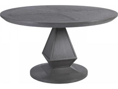 Artistica Appellation Medium Gray 54'' Wide Round Dining Table ATS012200870C