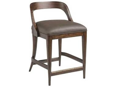 Artistica Beale Chocolate Brown Side Counter Height Stool ATS210489501