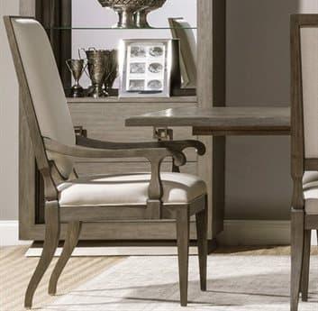 Artistica Beauvoir Natural Greige / Grigio Arm Dining Chair ATS20528814101
