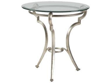 Artistica Home Colette Champagne Foil 26'' Wide Round Table Shape ATS2022950C