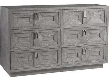 Artistica Doctrine Gray 6 Drawers Double Dresser ATS2093222